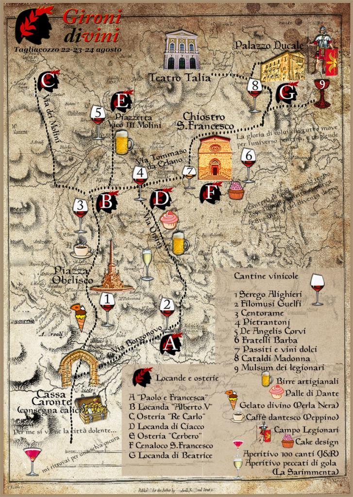 piantina evento Gironi Divini Tagliacozzo